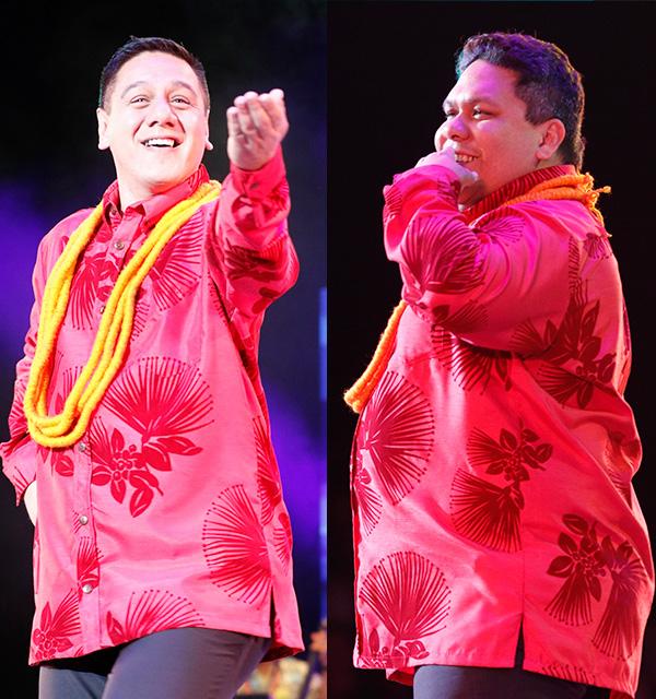 Robert Ke'ano Ka'upu & Lono Padilla with Hālau Hi'iakaināmakalehua