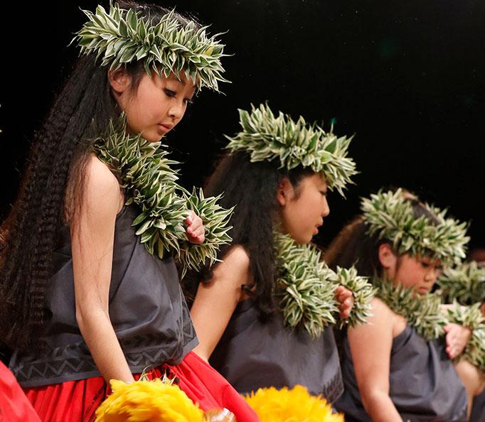 Hula 'OniE Japan 2018 フラ
