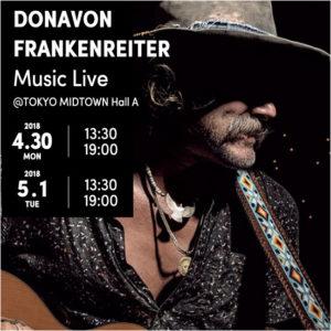 DONAVON FRANKENREITER Music Live